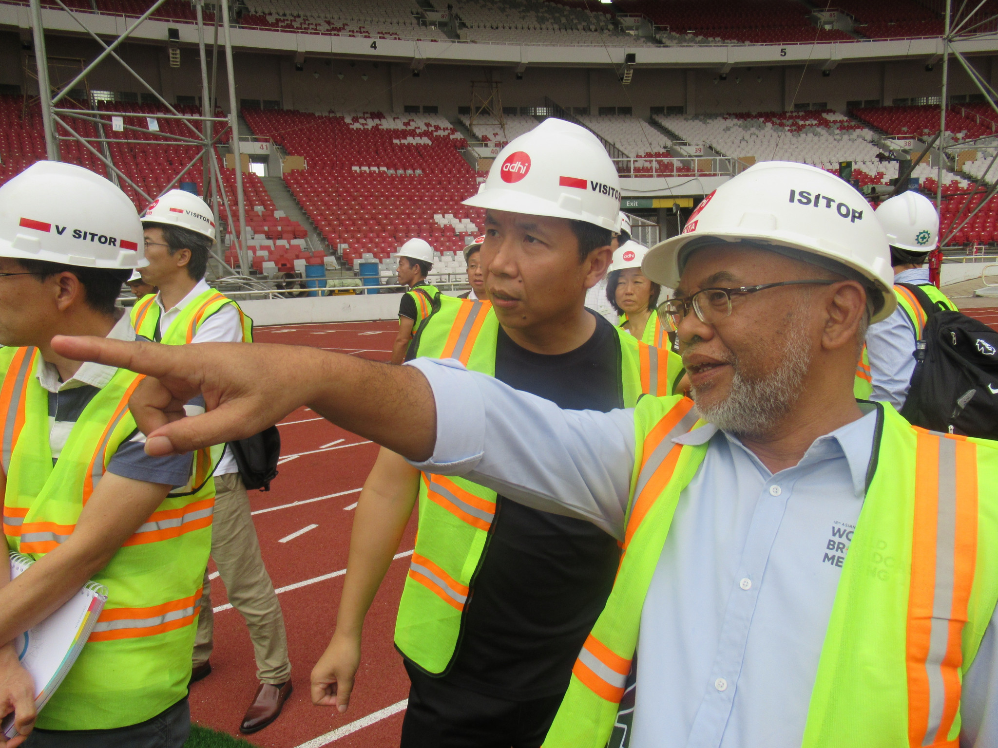 Broadcasters tour key stadiums for Jakarta 2018 Asian Games
