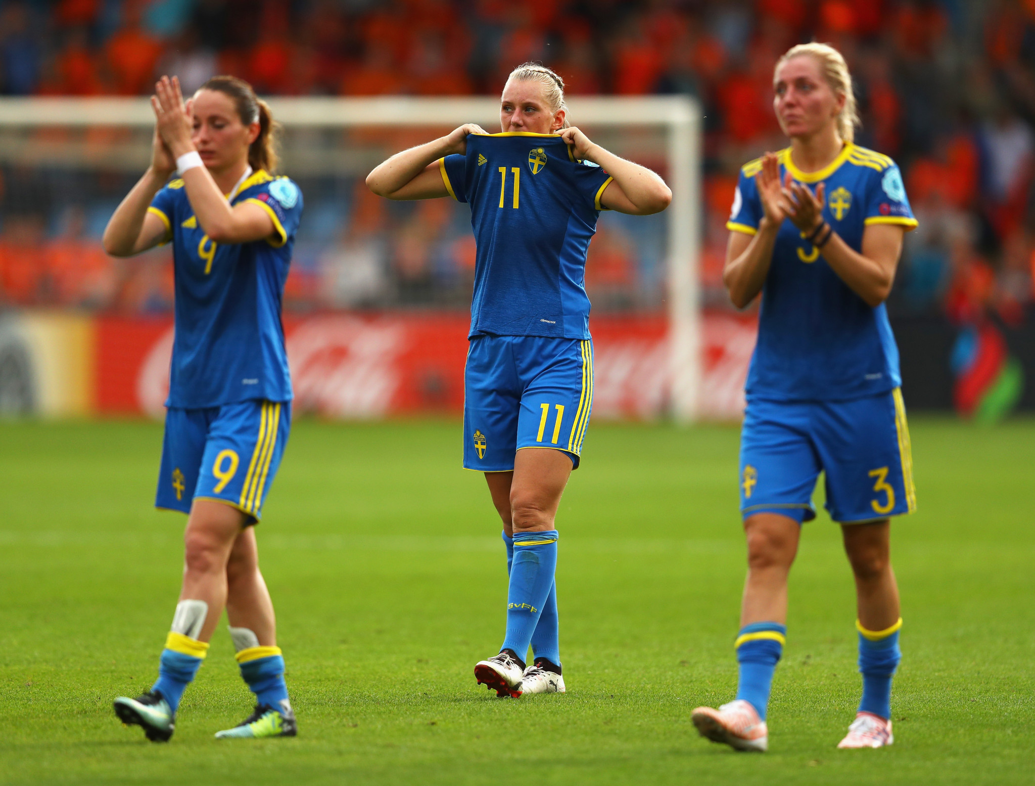 Sweden's Football Association have agreed new terms of pay for their female internationals ©Getty Images