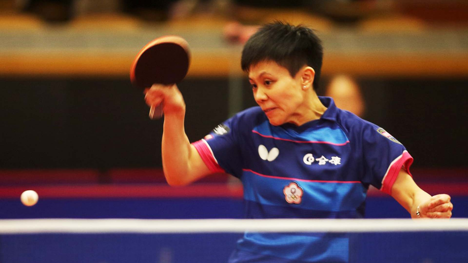 Chinese Taipei's Cheng I-Ching, the seventh seed, was made to work harder for her place in round two as she fought back from two games down to oust China's Li Jiayi ©ITTF