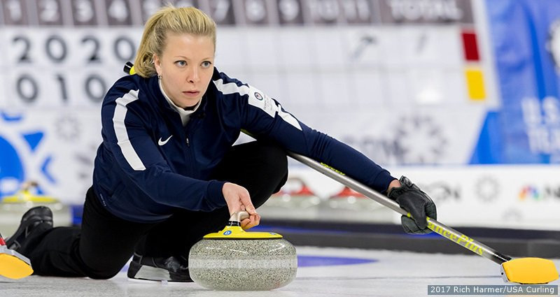Roth and McCormick move step closer to Pyeongchang 2018 with victories at US Olympic Curling Team Trials