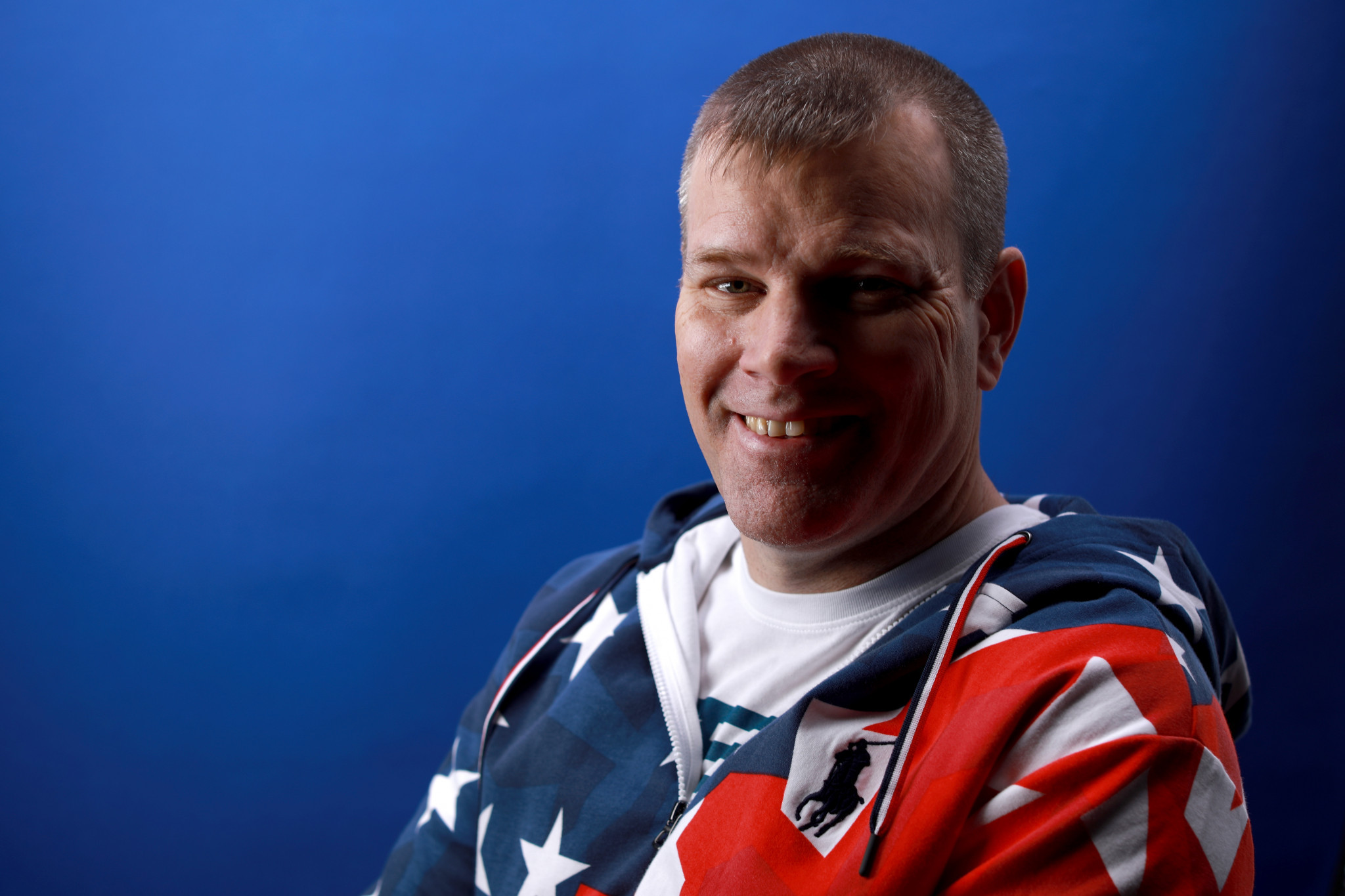 Kirk Black is a member of the US wheelchair curling team for Pyeongchang 2018 ©Getty Images