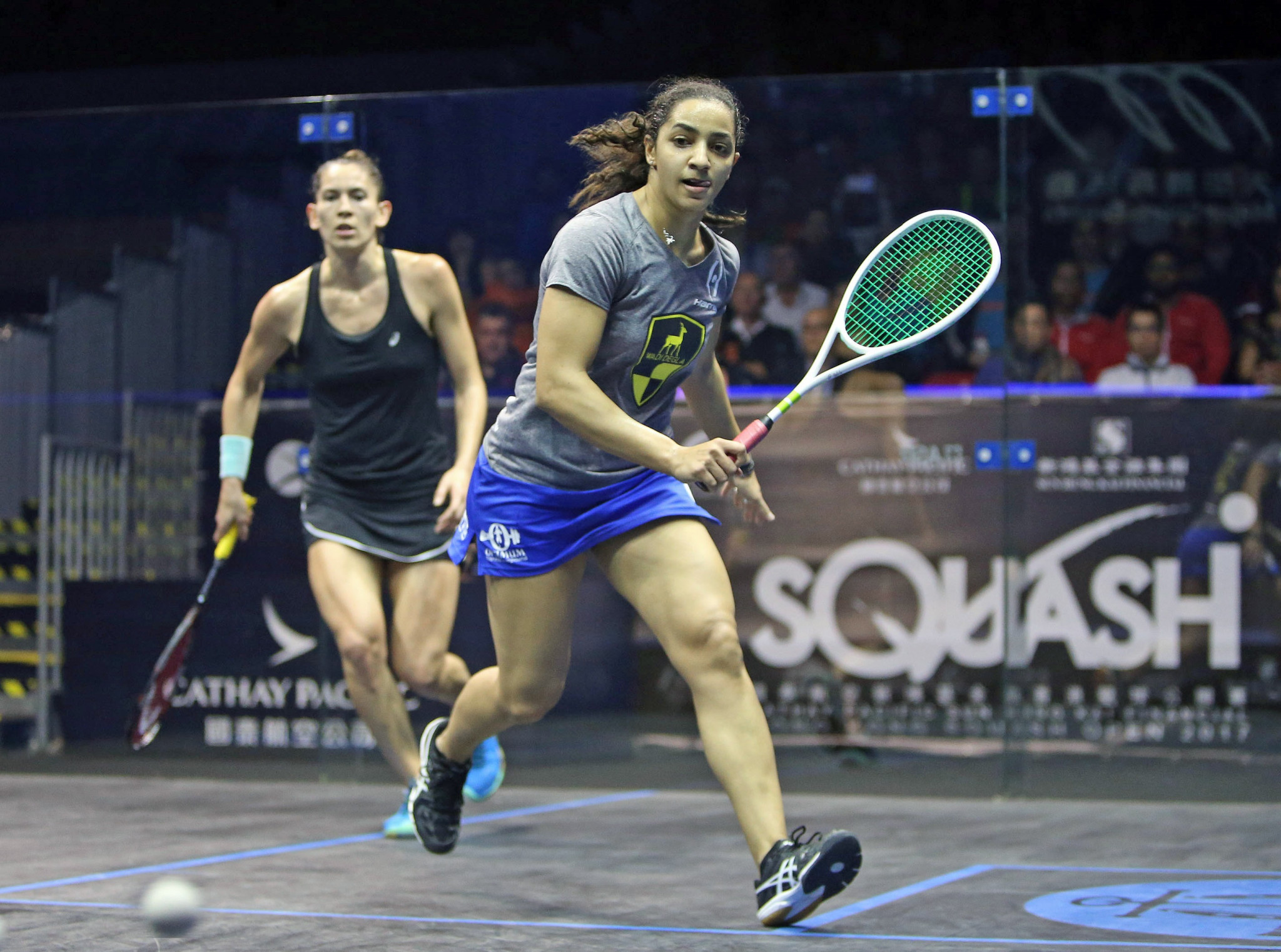 World number three Camille Serme of France is through to the women's semi-finals ©PSA