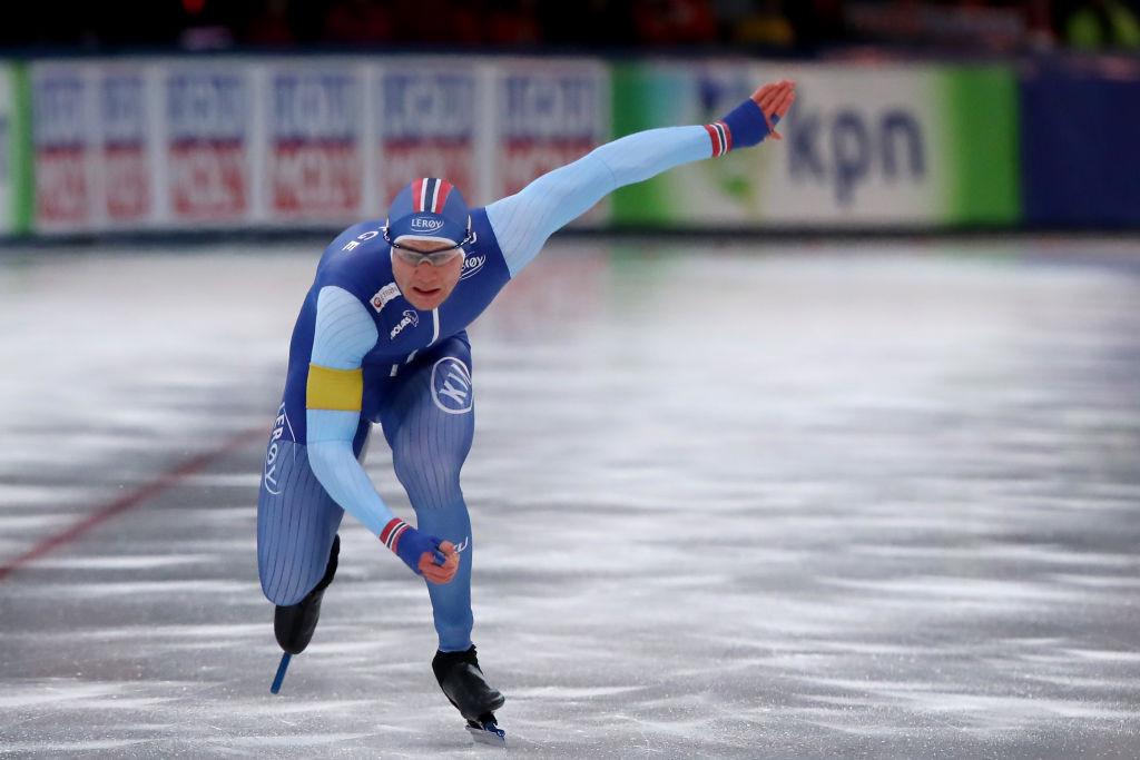 Lorentzen and Kodaira win two gold medals apiece at ISU Speed Skating World Cup in Stavanger