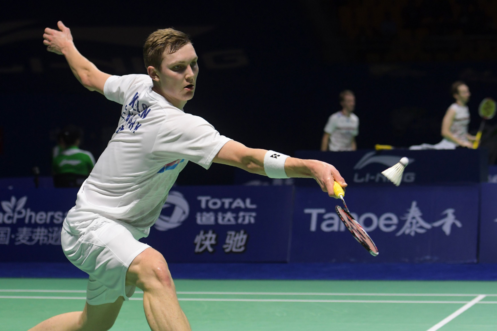 Men's top seed Viktor Axelsen marched into the semi-finals ©Getty Images
