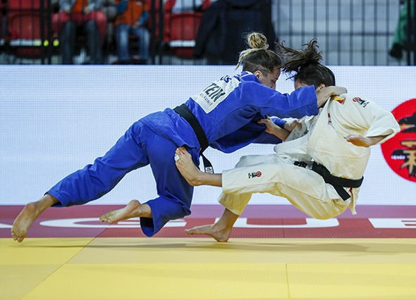 Two gold medals for Kosovo on opening day of IJF Grand Prix in The Hague