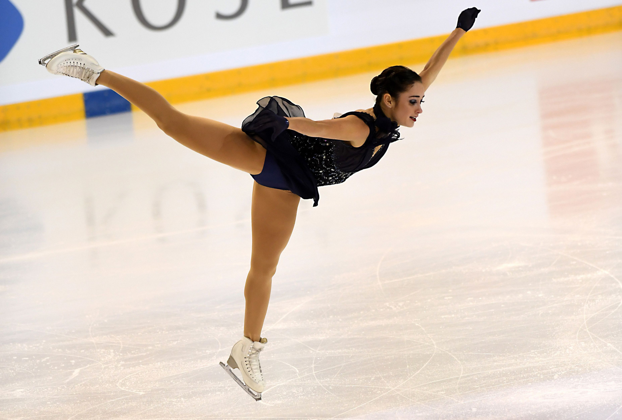 Canada's Kaetlyn Osmond is the leader in the women's event  ©Getty Images