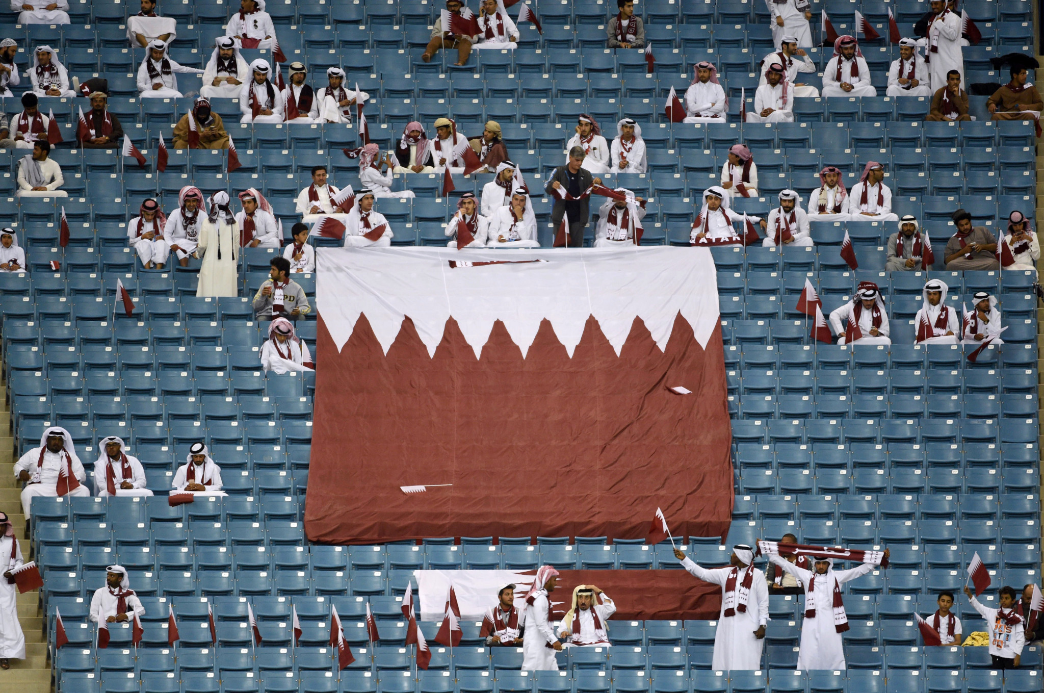 The Gulf Cup of Nations in Qatar faces cancellation ©Getty Images
