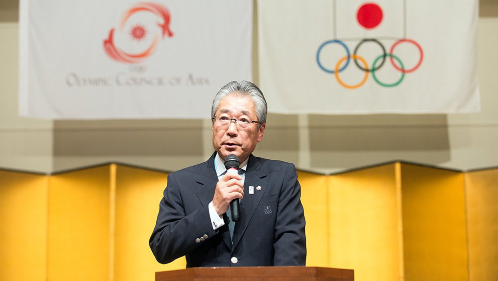 WKF award honorary membership to Japan's Takeda