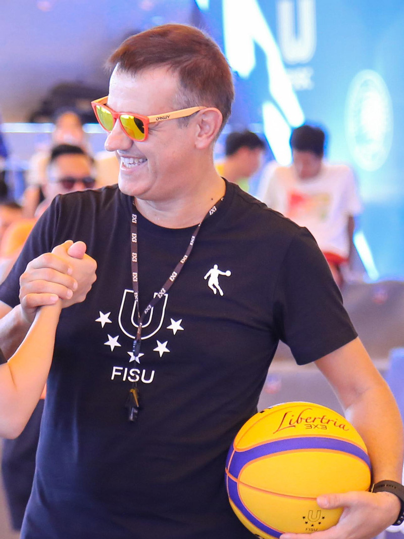The International University Sports Federation has paid tribute to Italian basketball referee Gianluca Mattioli after his sudden death ©FISU