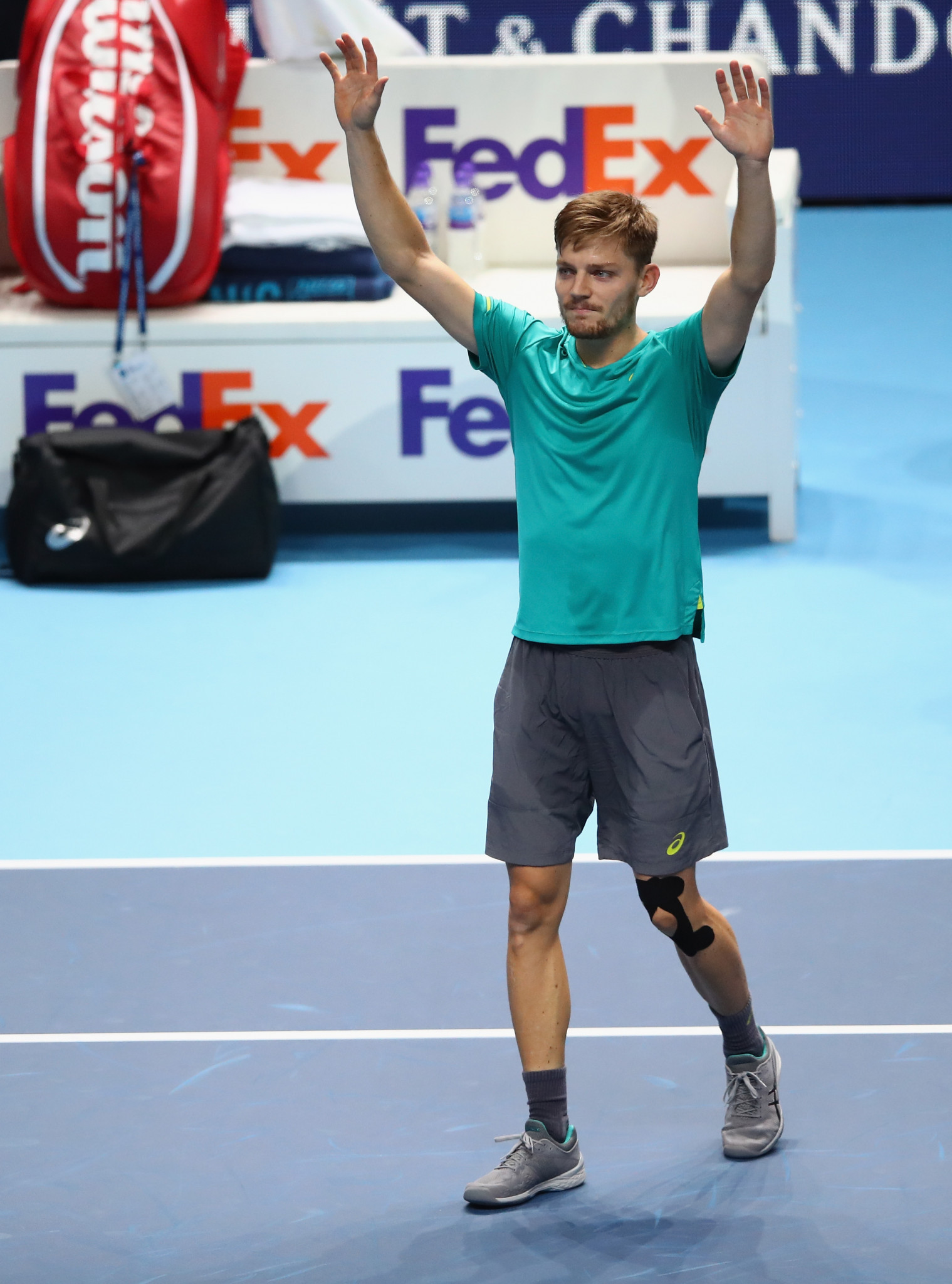 Shock win over Federer earns Goffin final place against Dimitrov at ATP World Tour Finals