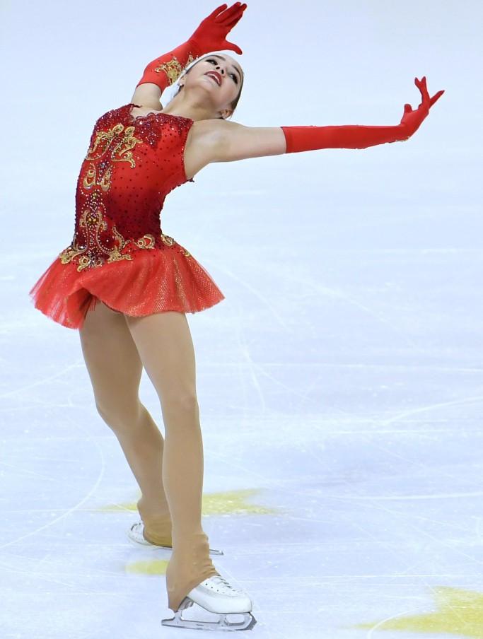 Zagitova rises four places to win at ISU Grand Prix of Figure Skating