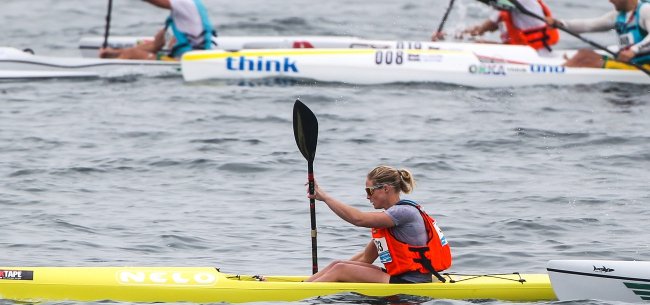 New Zealand's Teneale Hatton ranked third in the open event ©ICF