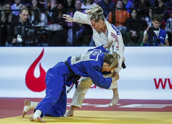 Double gold for Netherlands as hosts move to top of IJF Grand Prix medal table