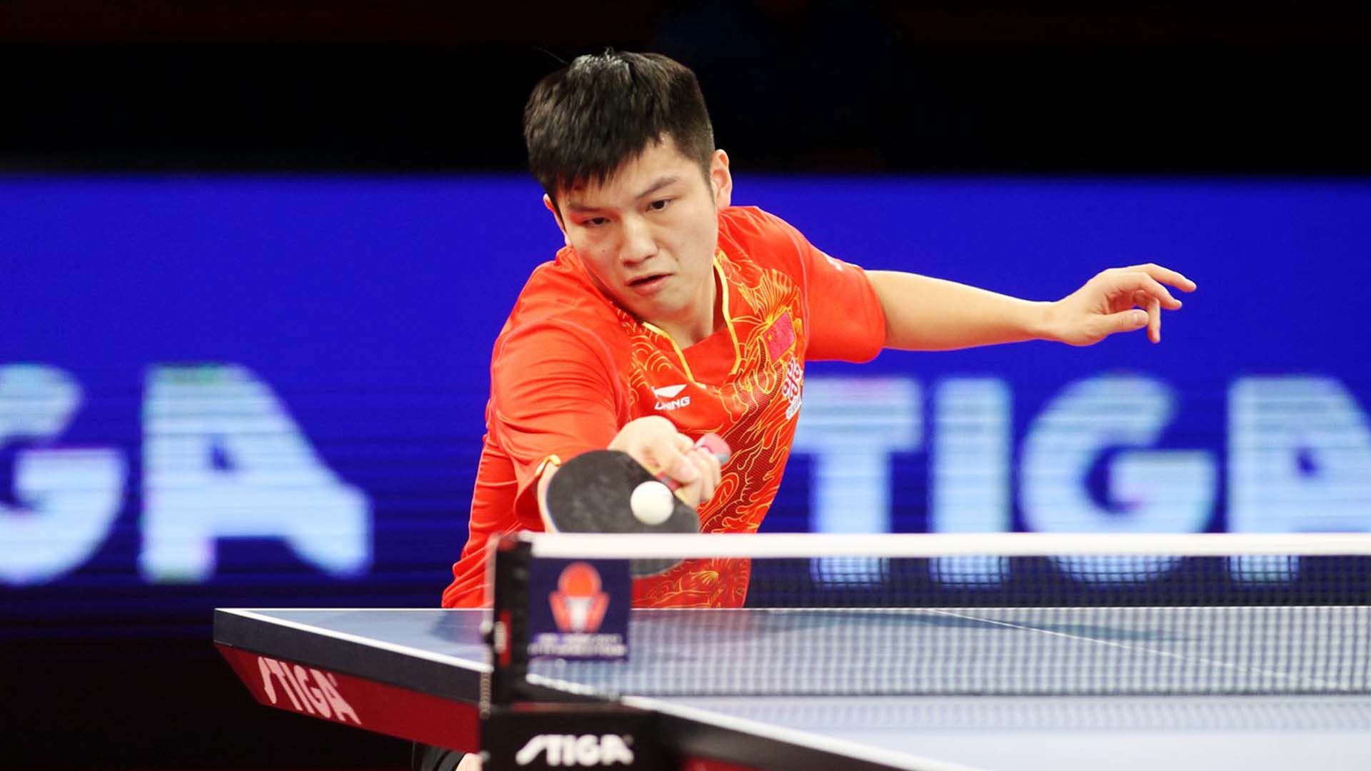China's top seed Fan Zhedong will play compatriot and number two seed Xu Xin in tomorrow's men's singles final at the ITTF Swedish Open ©ITTF
