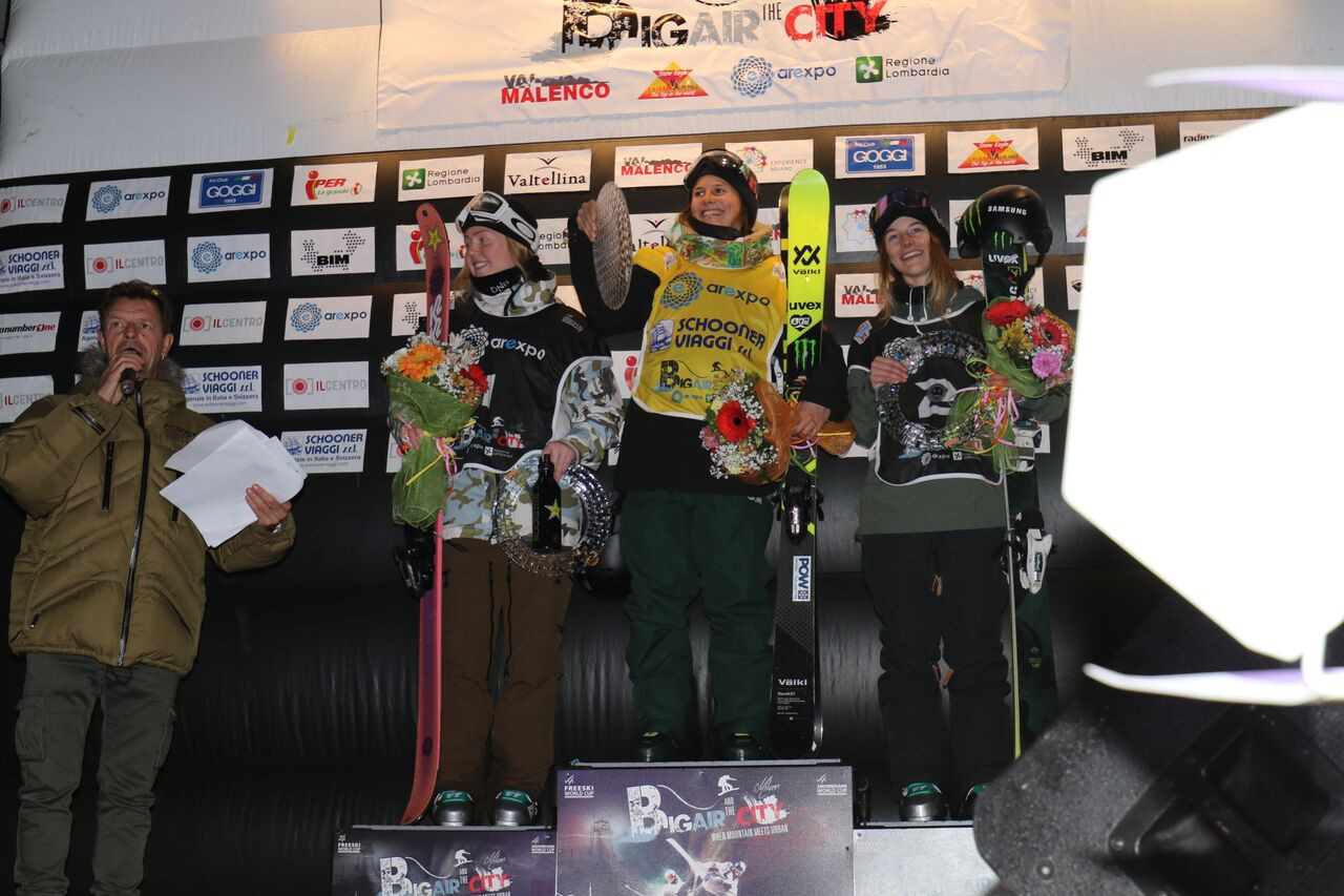 Coline Ballet Baz topped the podium in the women's event ©FIS
