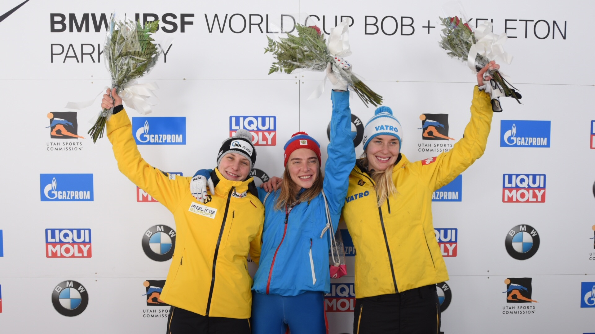 Nikitina and Yun secure skeleton victories at IBSF World Cup in Park City