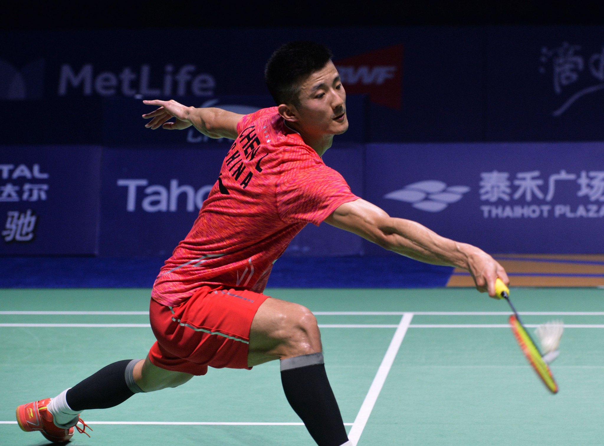 Chen Long triumphed in the men's singles final ©Getty Images