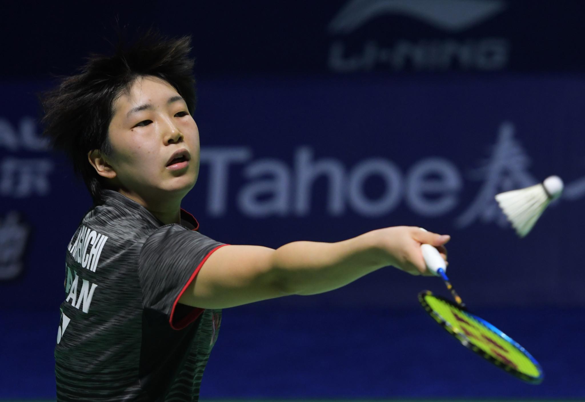 Akane Yamaguchi won the women's singles title ©Getty Images