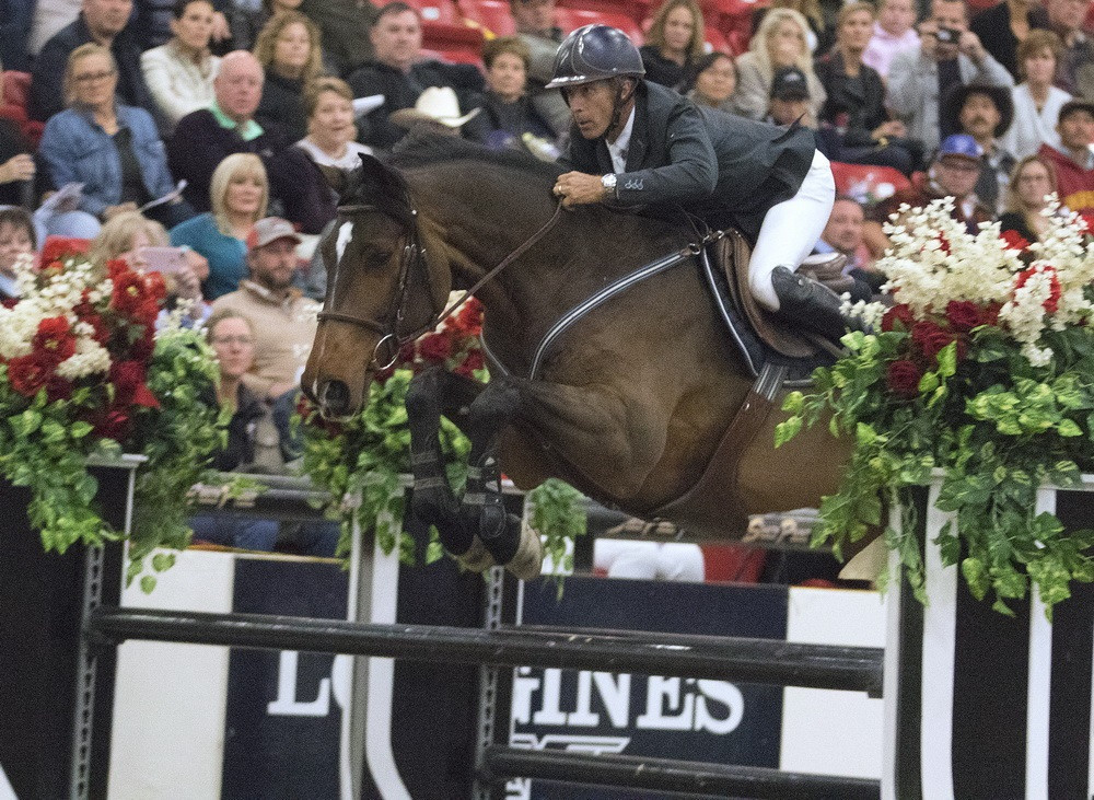 Spooner secures victory at FEI World Cup Jumping event in Las Vegas