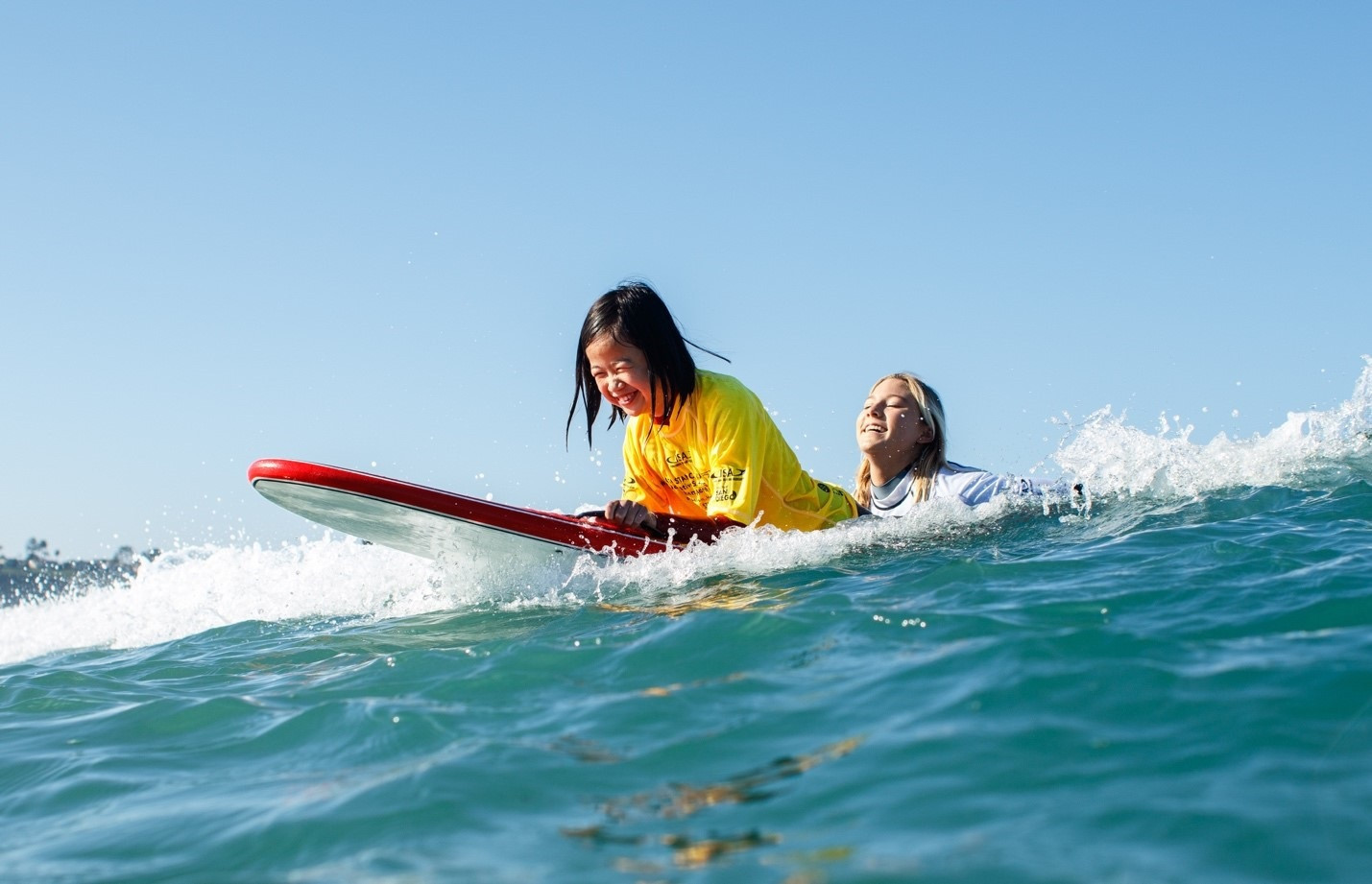 The ISA claim there has been significant growth of women being interested in adaptive surfing ©ISA
