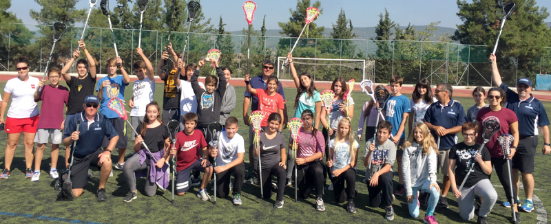 The Federation of International Lacrosse has held its latest development clinic in Greece ©FIL