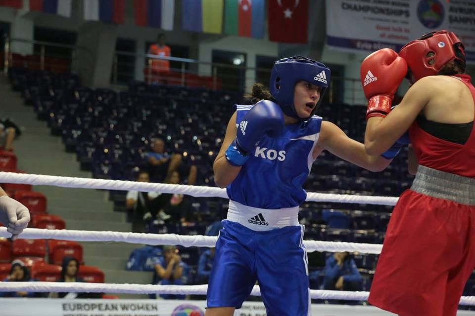 The Kosovo Olympic Committee has claimed that fighter Donjeta Sadiku has been unable to compete at the ongoing AIBA Women's Youth World Championships in India due to visa issues ©NOC Kosovo/Twitter