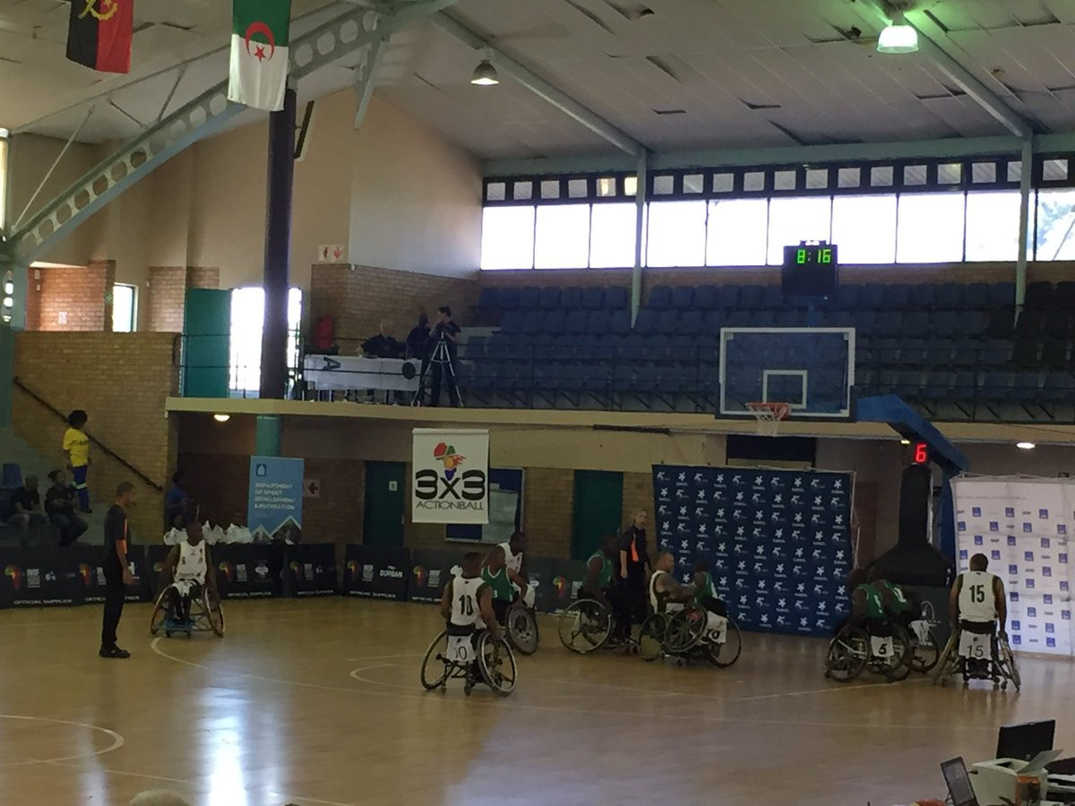 Algeria maintain winning start as IWBF African Qualification Tournament begins in Durban