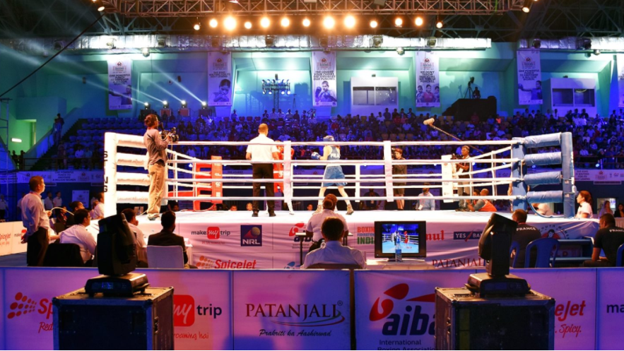 Action continued today at the AIBA Women's Youth World Championships ©AIBA