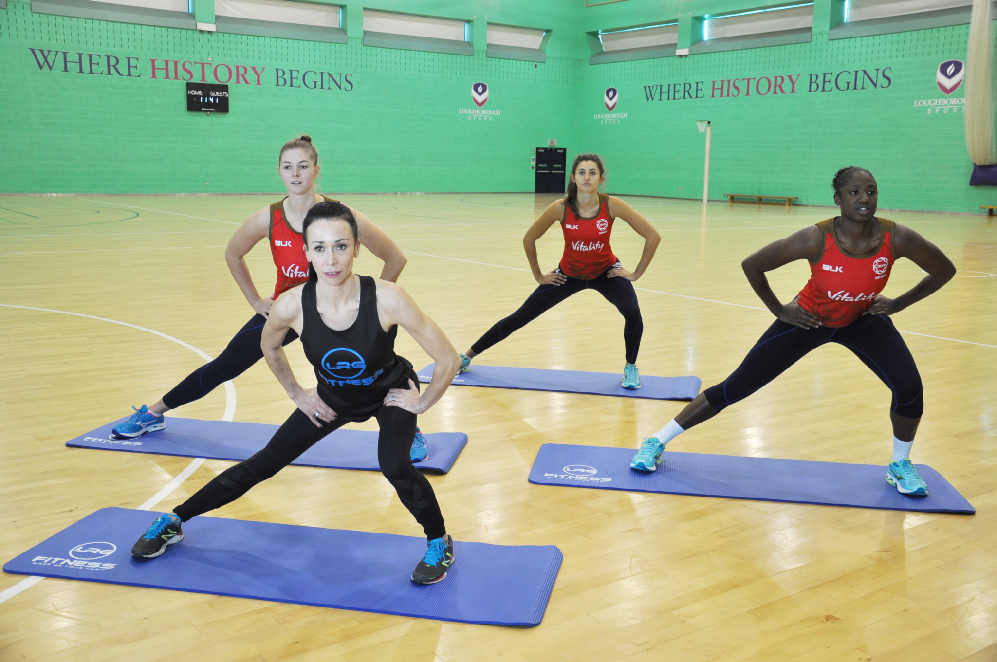England Netball's partnership with LRG Fitness is expected to bring benefits to players of all ages and fitness levels ©England Netball