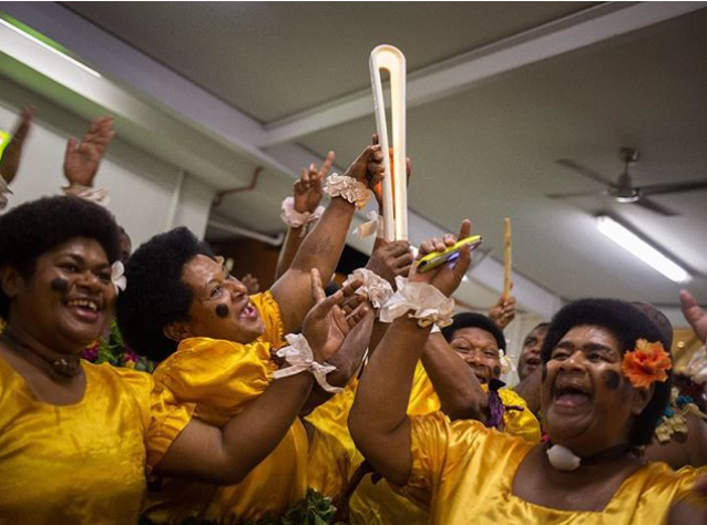 Fiji welcomes Queen's Baton for first time since 2006