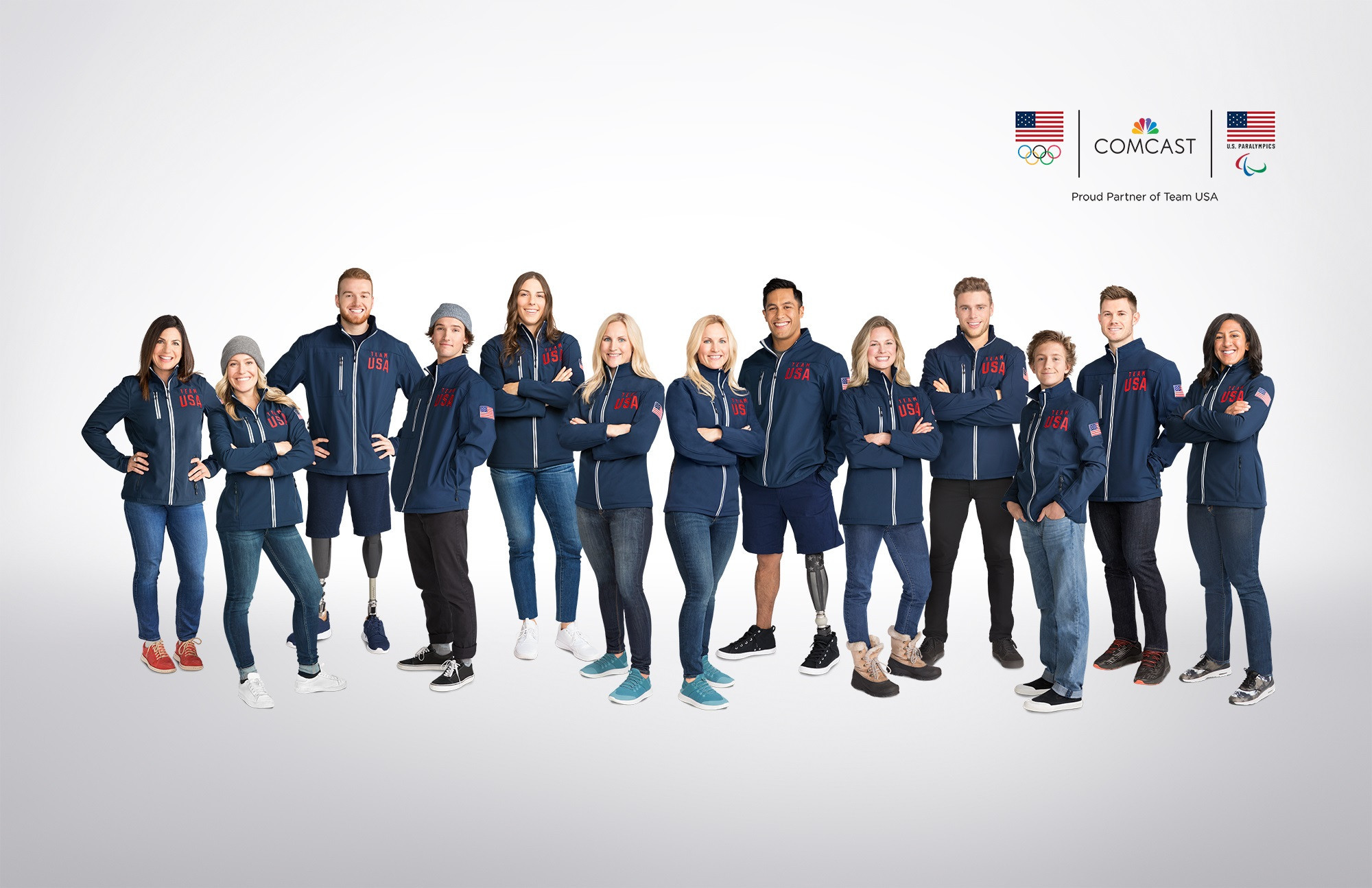 Comcast announce support of 13 Team USA athletes before Pyeongchang 2018