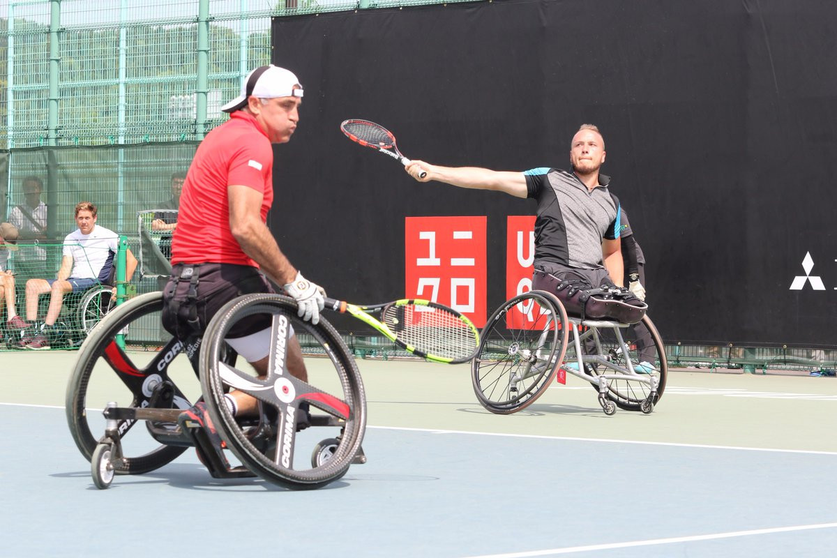 Houdet and Peifer to begin UNIQLO Wheelchair Doubles Masters title defence