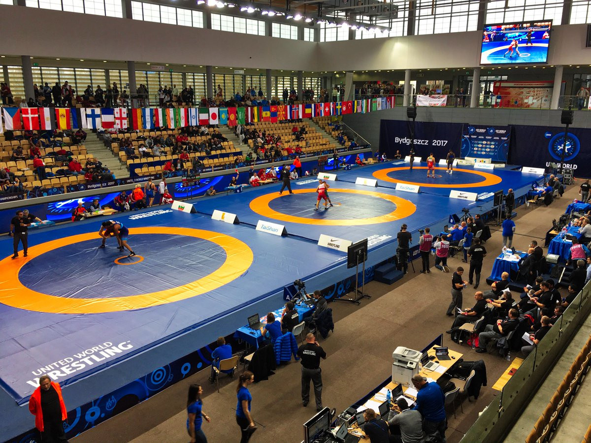 Moldova's Cataraga triumphs on opening day of Under-23 World Wrestling Championships