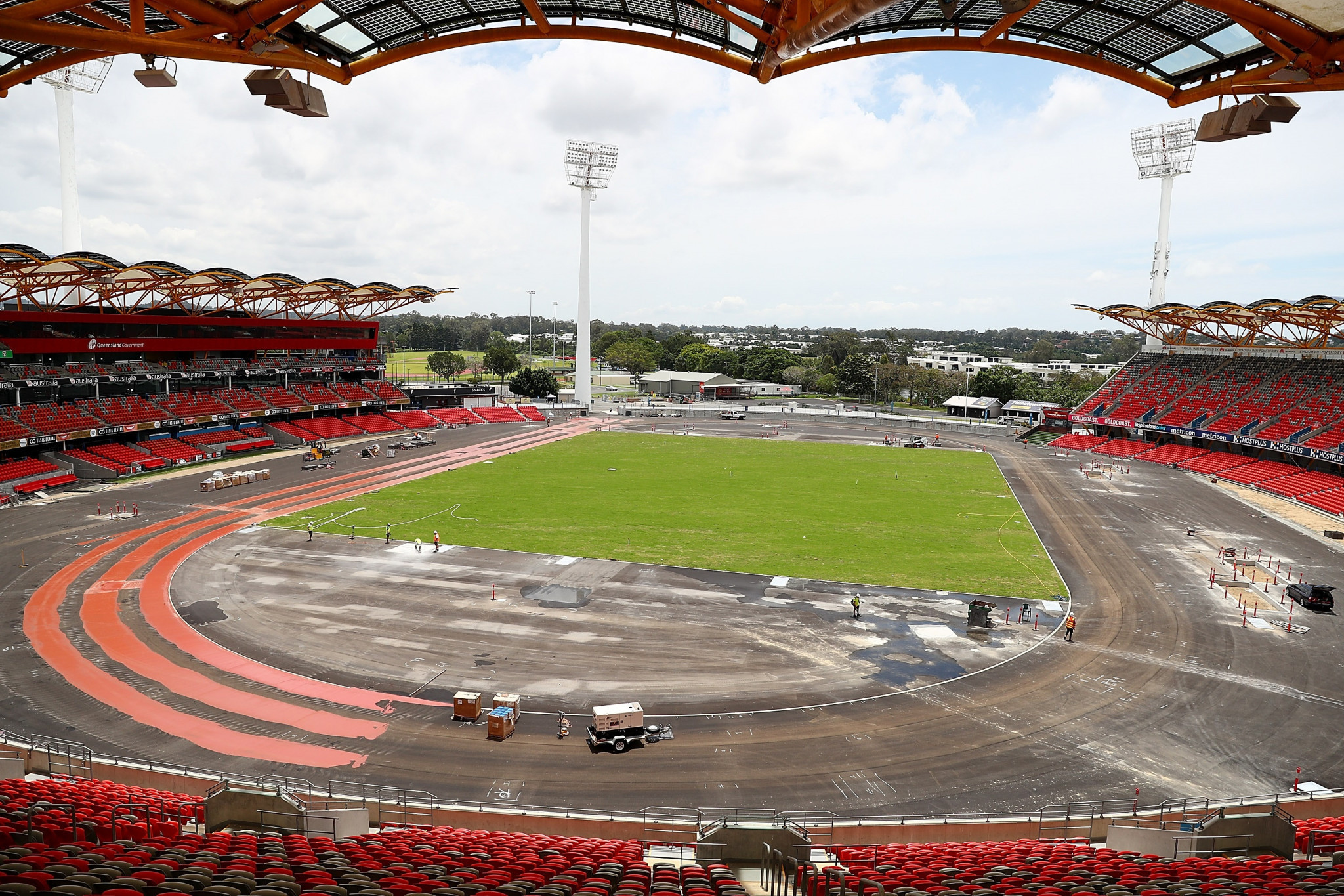 The Carrara Stadium will be the venue for the Opening and Closing Ceremonies for the Gold Coast 2018 Commonwealth Games  ©Getty Images