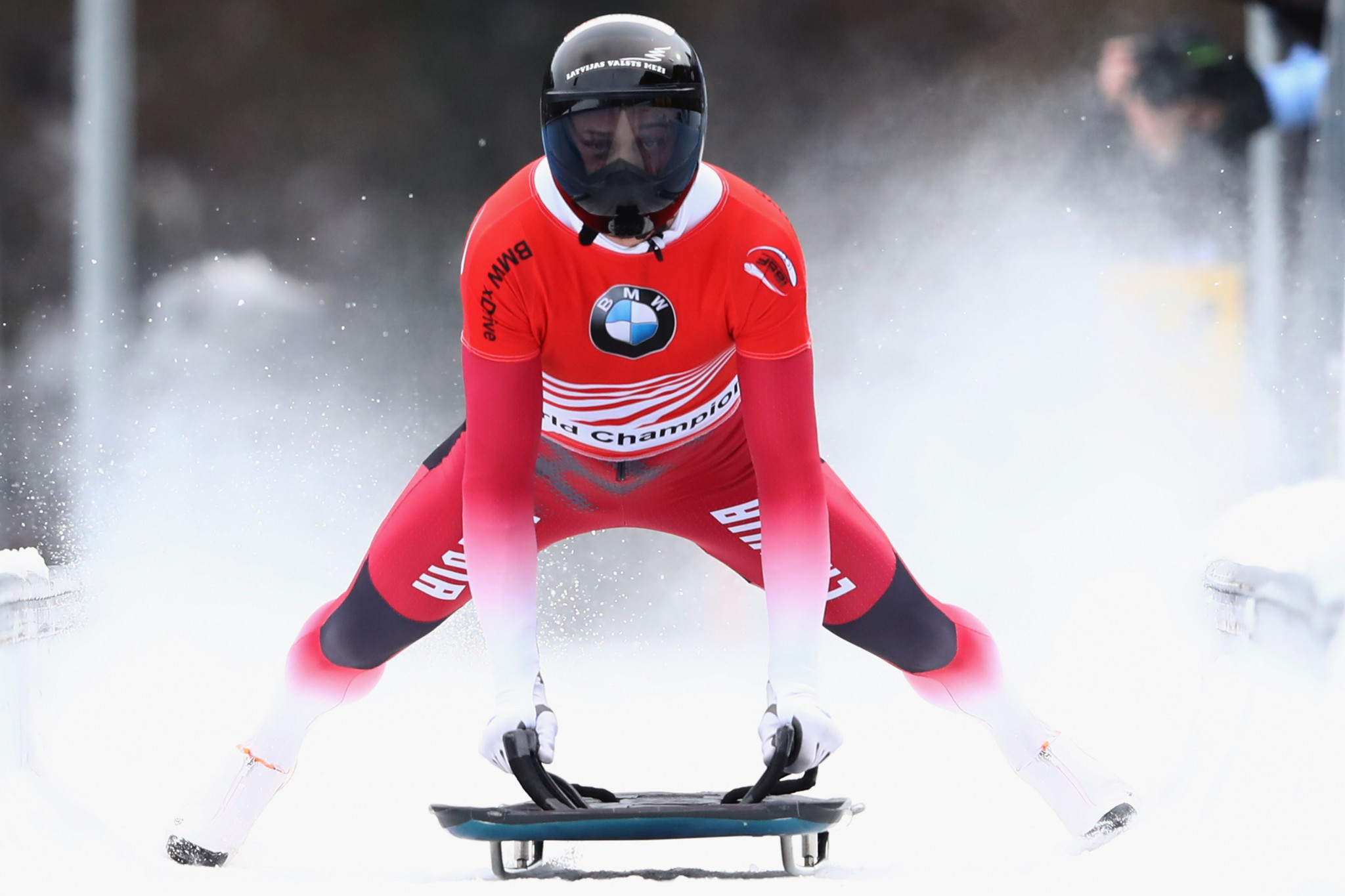 Martins Dukurs is in line to be upgraded to the men's skeleton gold medal from Sochi 2014 ©Getty Images