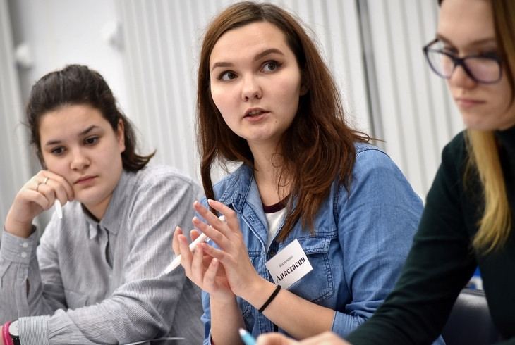 Volunteers attend training programme ahead of Krasnoyarsk 2019