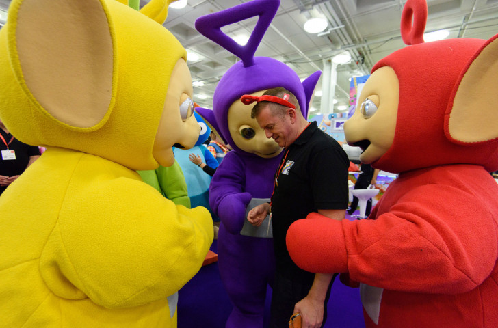 Teletubbies. Here in the Nineties. Still here now. Some things never change ©Getty Images