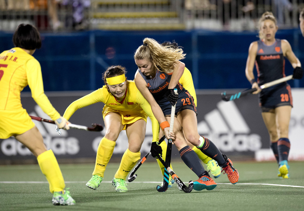 Netherlands and England progress to semi-finals at Women's Hockey World League Final