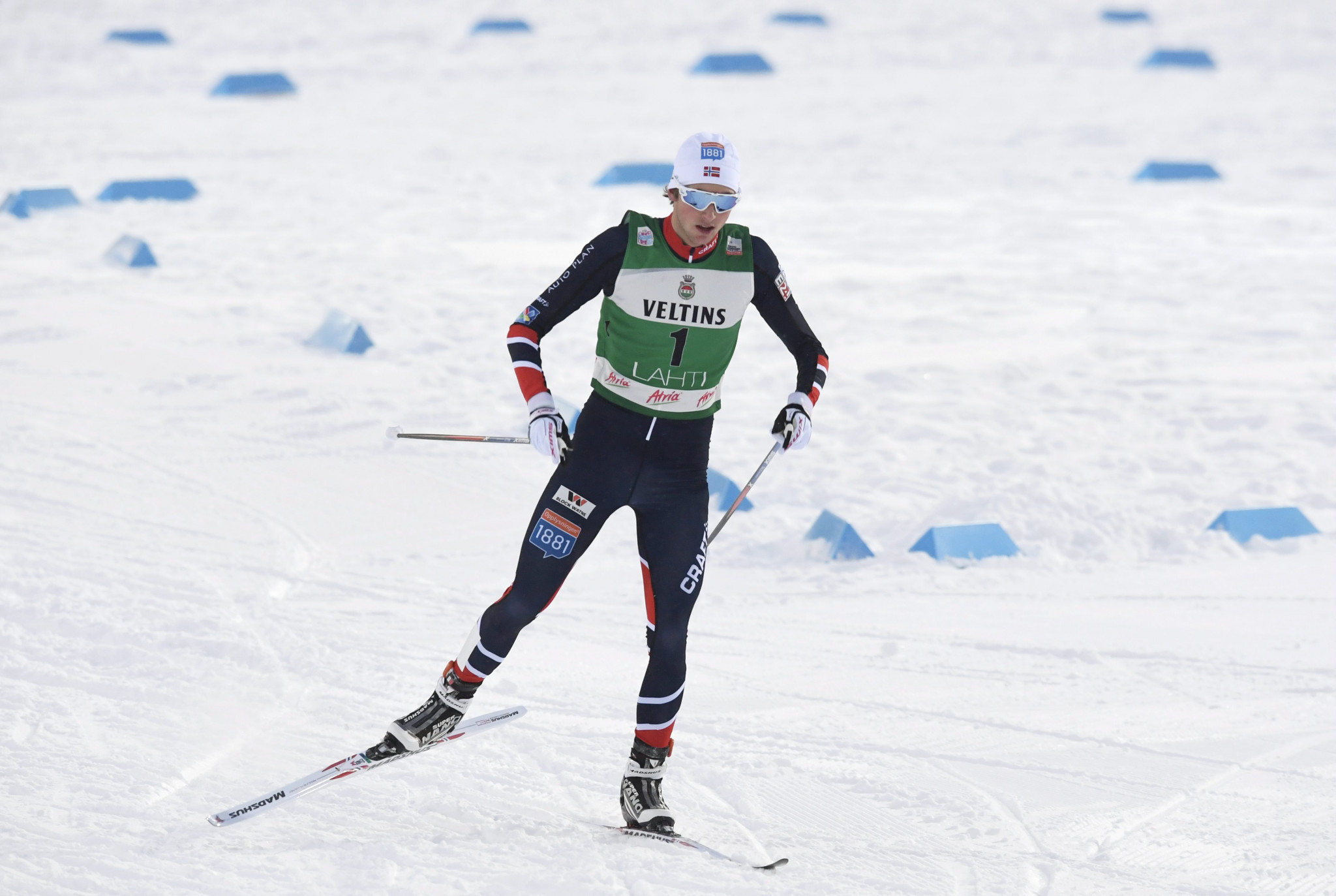 Jarl Magnus Riiber of Norway is among the notable absentees from the first event of the season ©Getty Images]