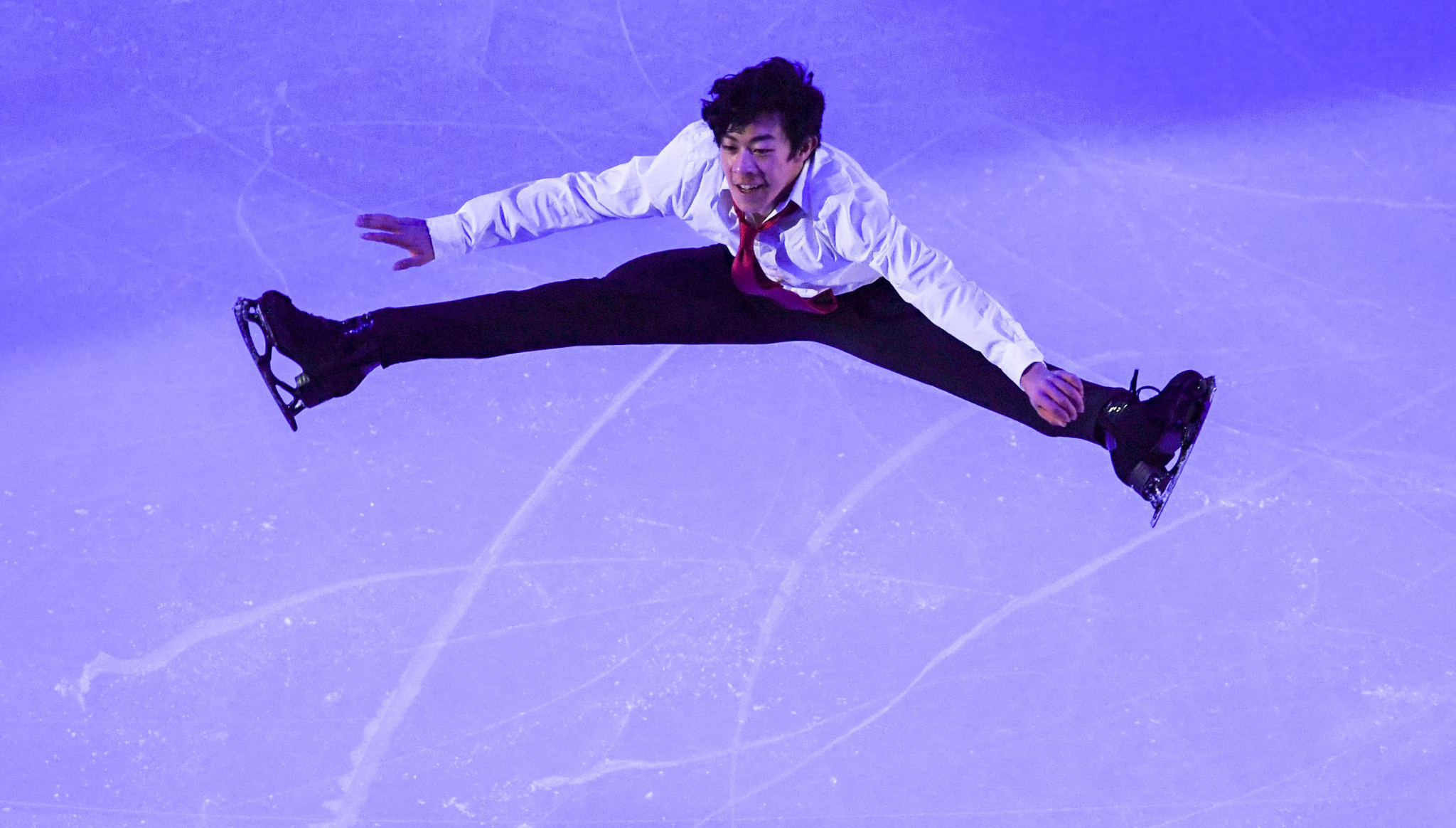 Nathan Chen of the United States is likely to be up against Russia's Sergey Voronov in the men's event © Getty Images