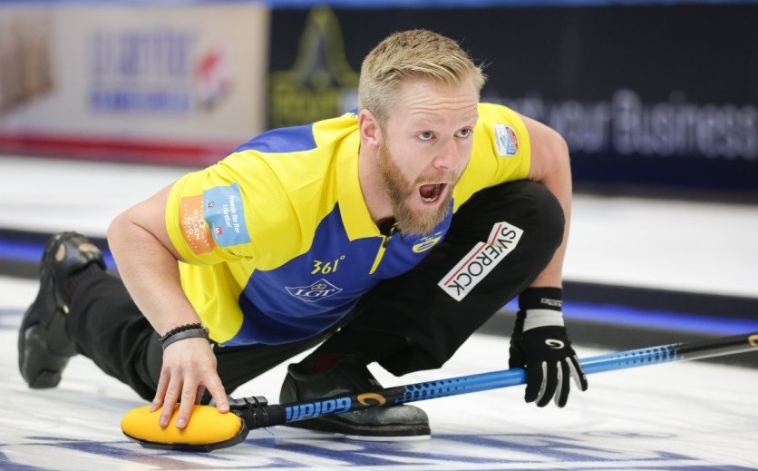 Sweden remain on course for a fourth consecutive men's title ©WCF