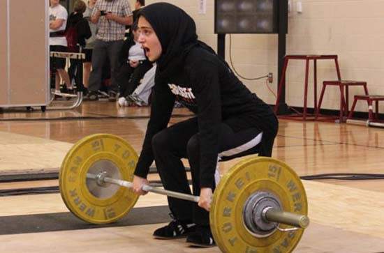 Iran and Saudi Arabia to compete in women's weightlifting  - and America lends a helping hand