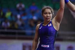 Victories all round for Japanese wrestlers in women's event at Under-23 World Championships