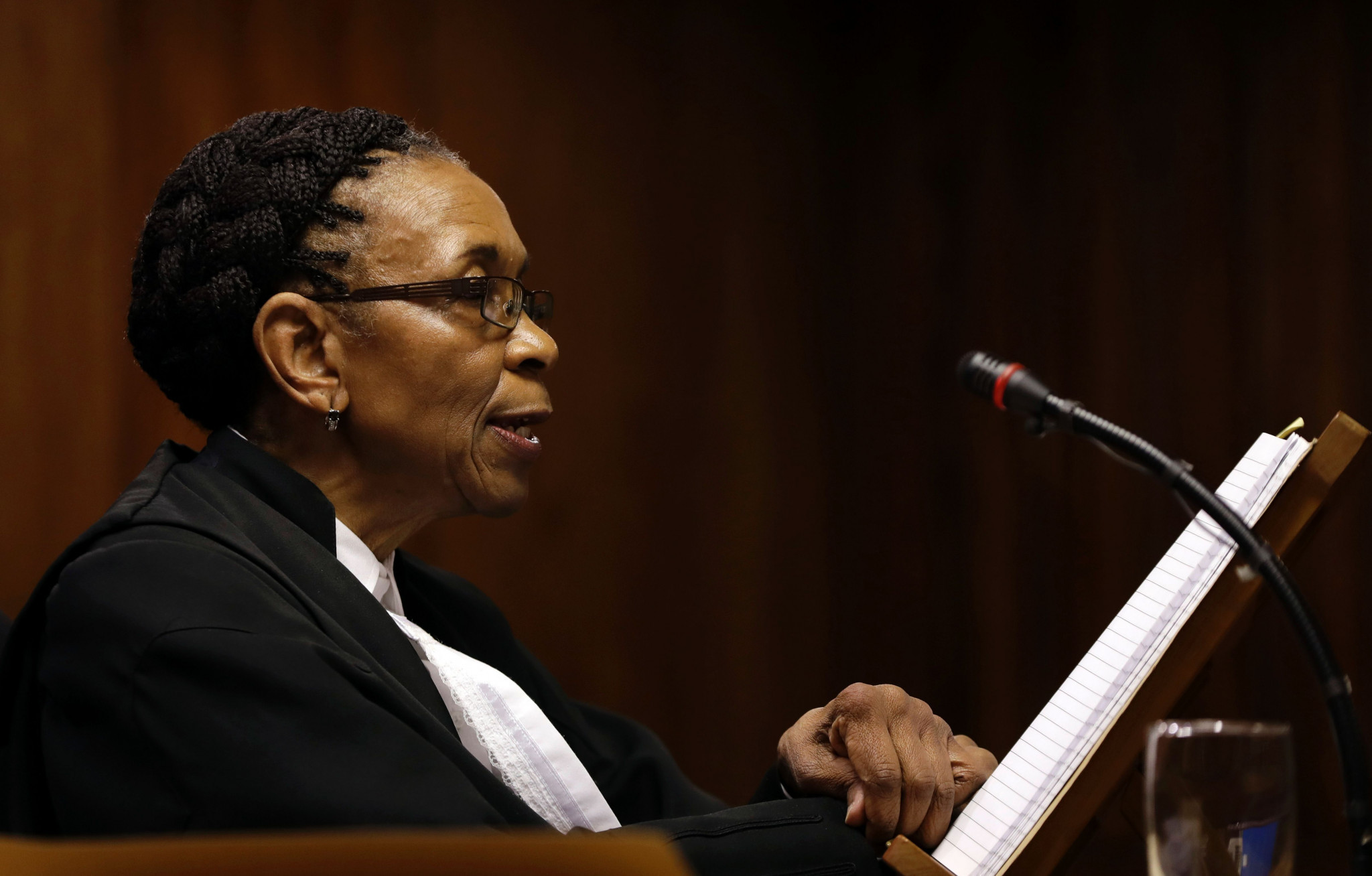 Judge Thokozile Masipa had initially sentenced Pistorius to five years for culpable homicide - the equivalent of manslaughter - in 2014 ©Getty Images