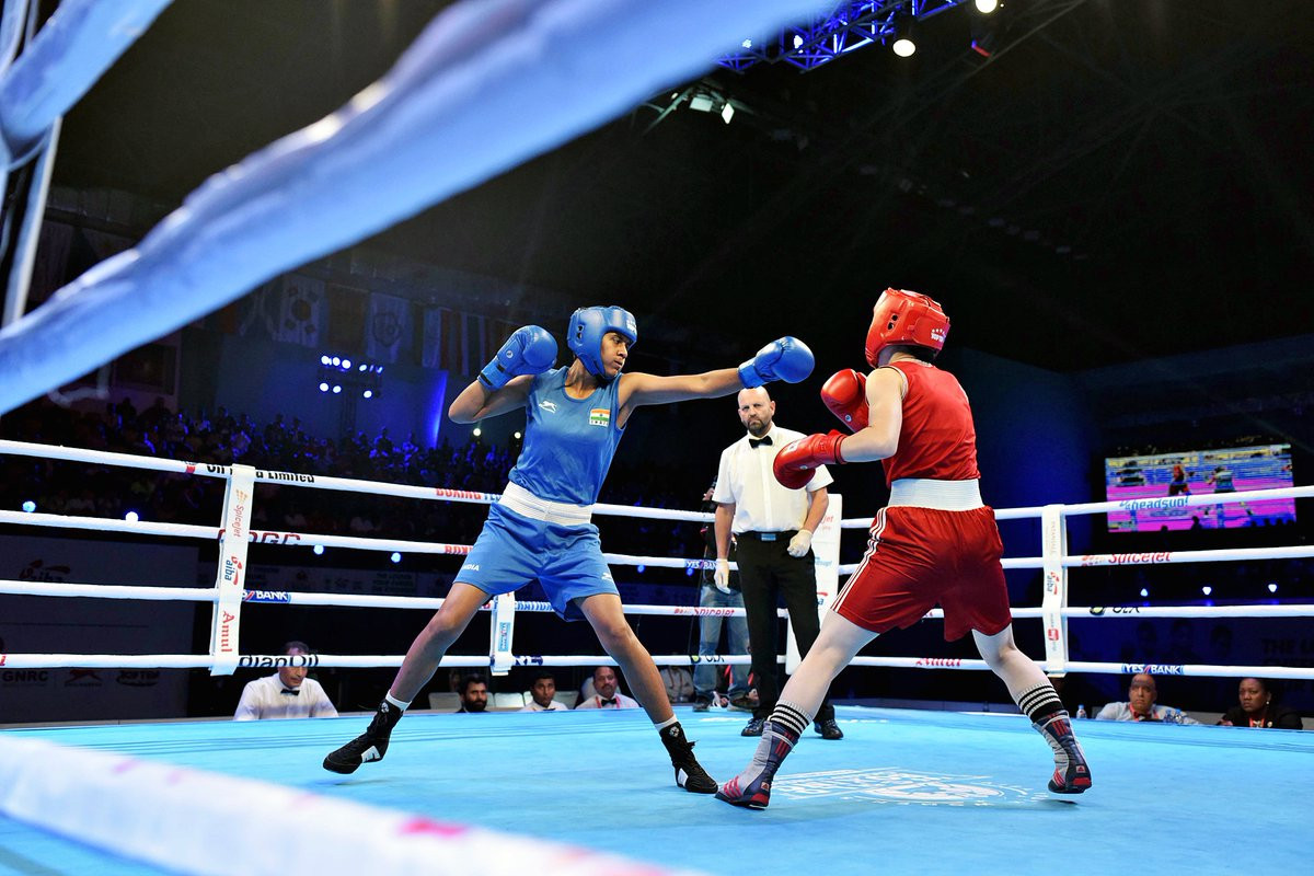 Indian boxers reach finals in front of home crowd at AIBA Women's Youth World Championships
