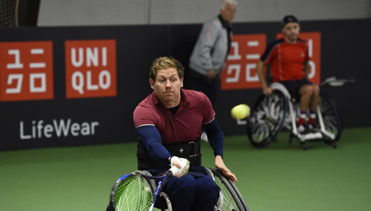 Wheelchair Doubles Masters last four line-ups decided