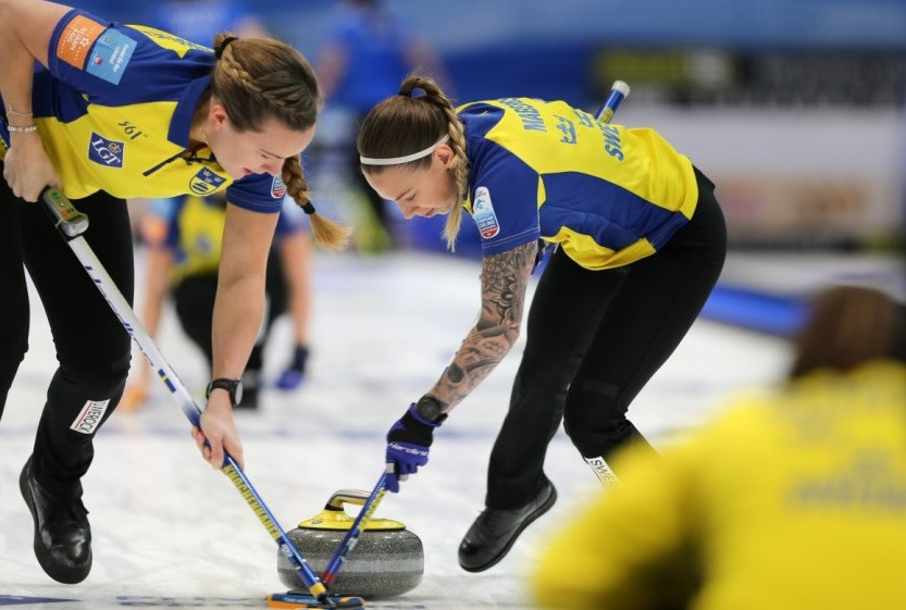 Sweden beat Italy to reach the final ©WCF