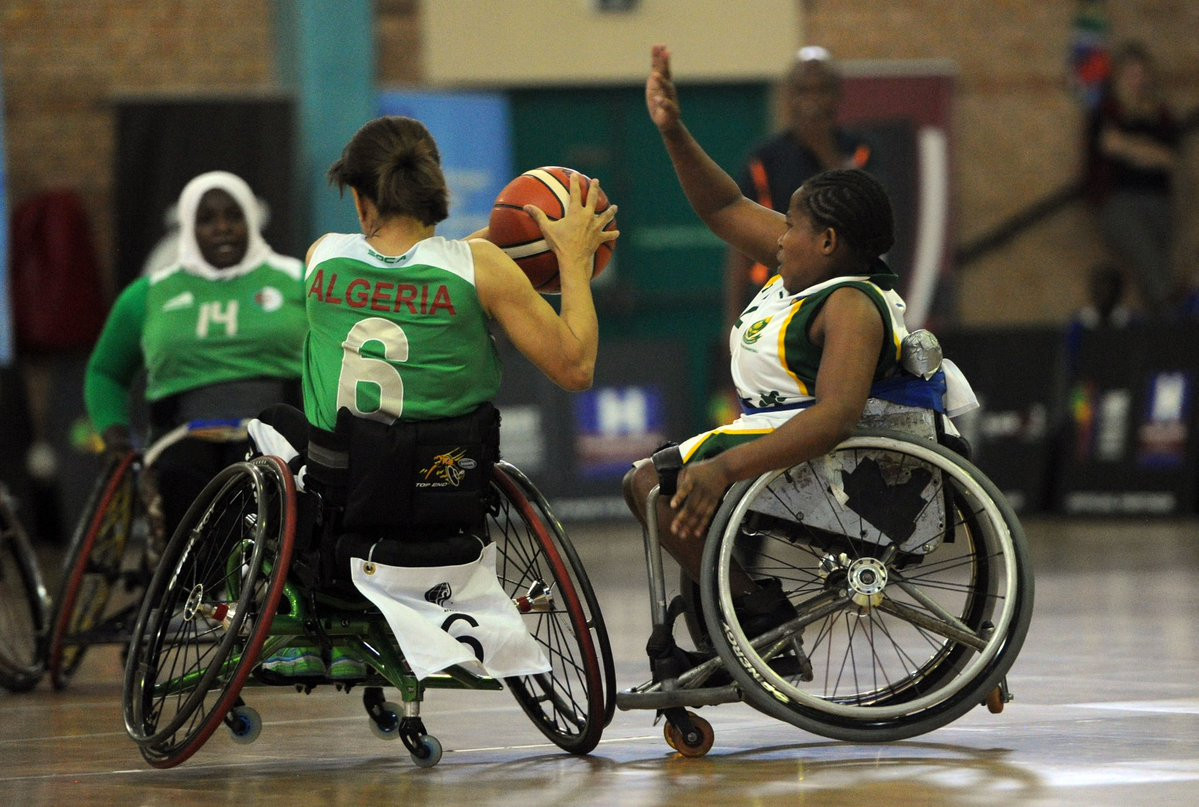 Algeria's women also qualified as they beat South Africa ©Twitter