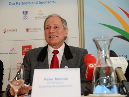 Peter Mennel has gained the final EOC Executive Committee position ©ÖOC/GEPA