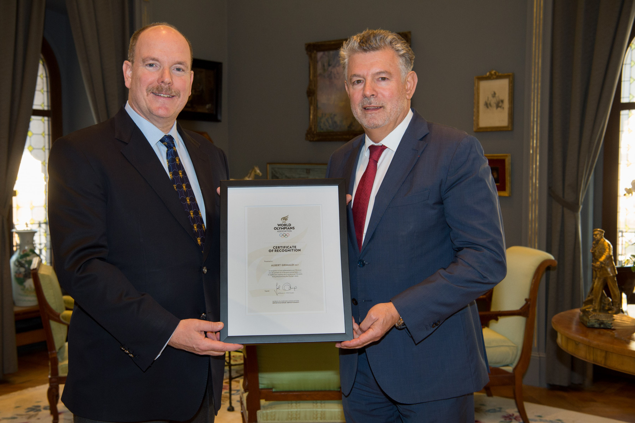 Prince Albert added to OLY ranks
